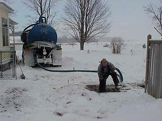 Winter Septic Tank Maintenance